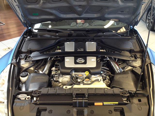 Matte Blue Nissan 370Z