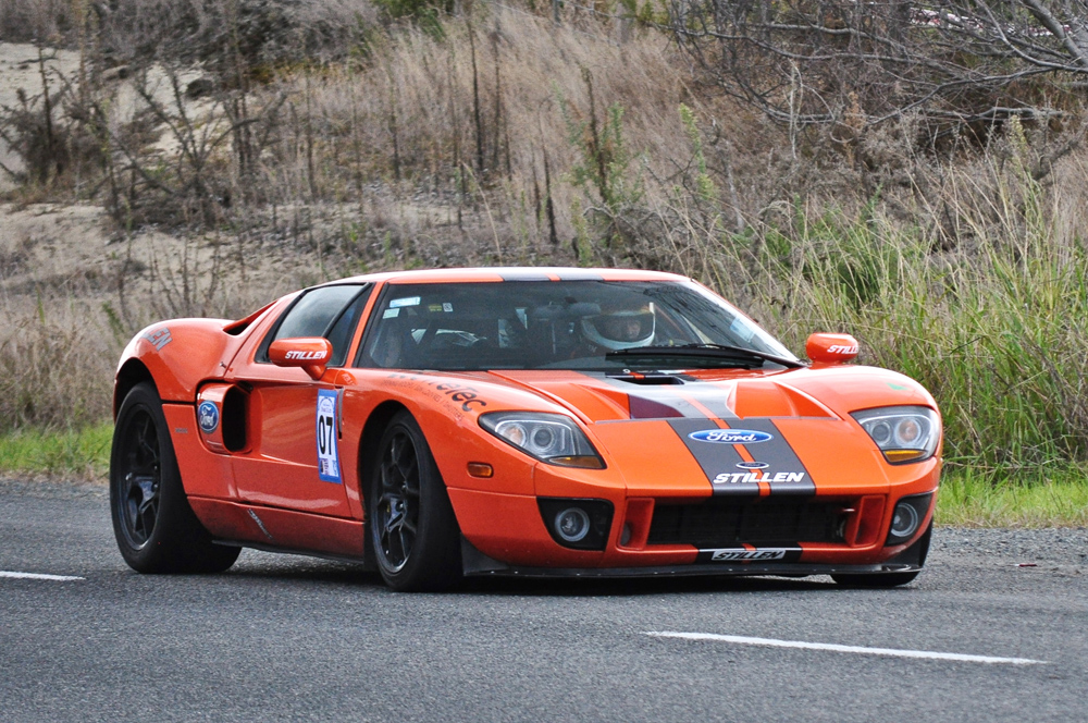 Steve Millen driving the STILLEN Ford GT