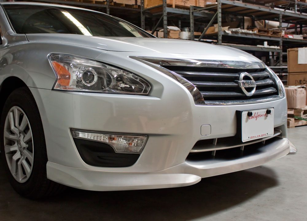 New parts available for the 2013 nissan altima sedan l33 stillen 2013 nissan altima front lip spoiler sciox Choice Image
