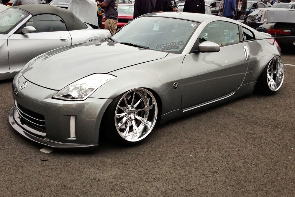 Z at the Slammed Society Car Show at the 2013 Forumla Drift Long Beach