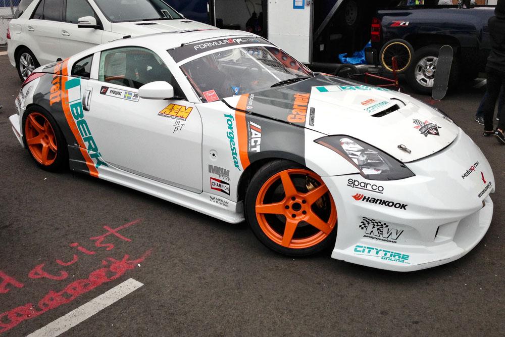AP Racing Brakes on 2013 Formula Drift Display Vehicle