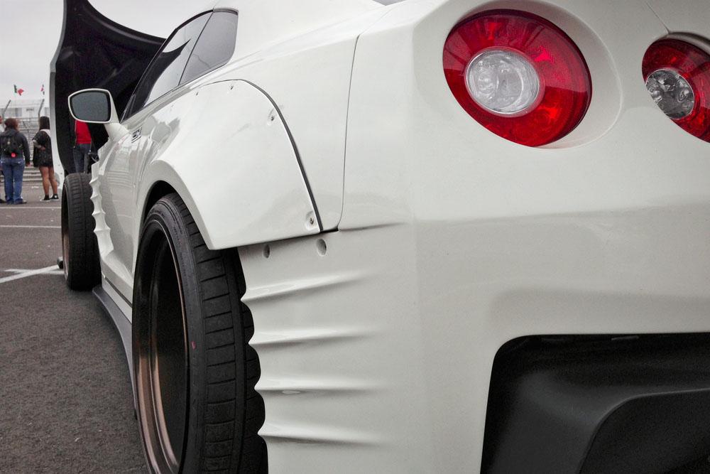 Slammed Society Car Show at the 2013 Forumla Drift Long Beach