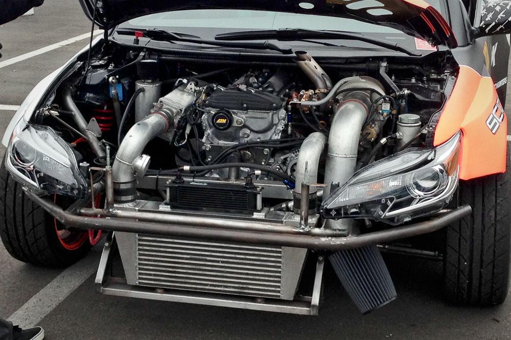 Scion tC Engine Bay