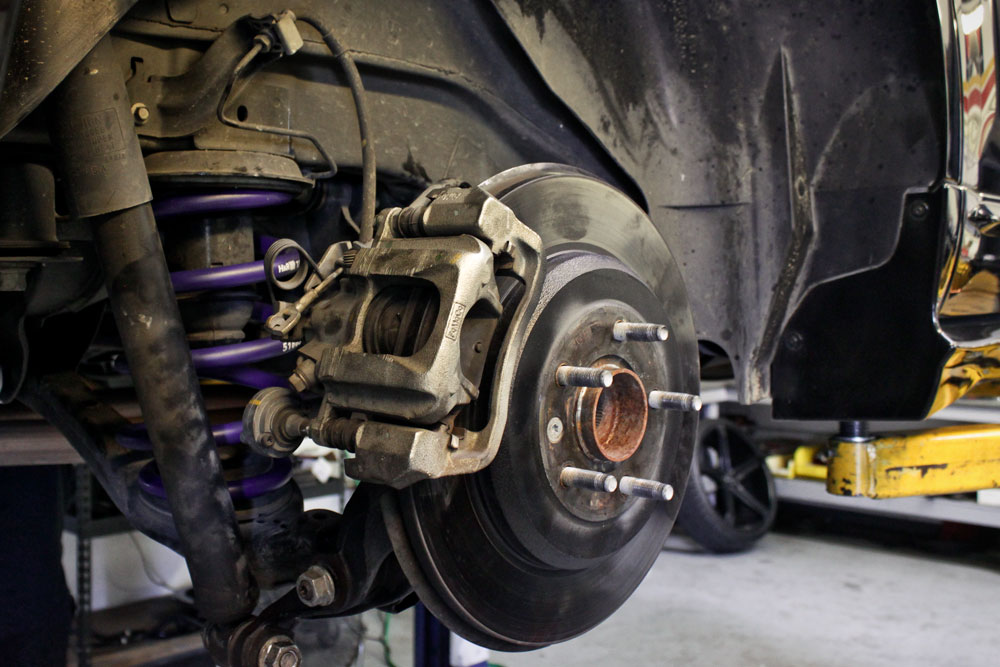 Ford Edge With Rear Hr Springs Installed