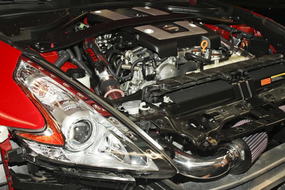 2013 Nissan 370z Stillen Gen 3 Intake Fascia Off
