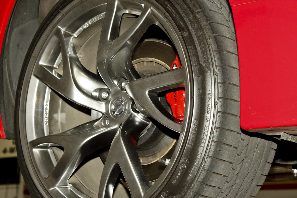 2013 Nissan 370z Ray's Forged Wheels