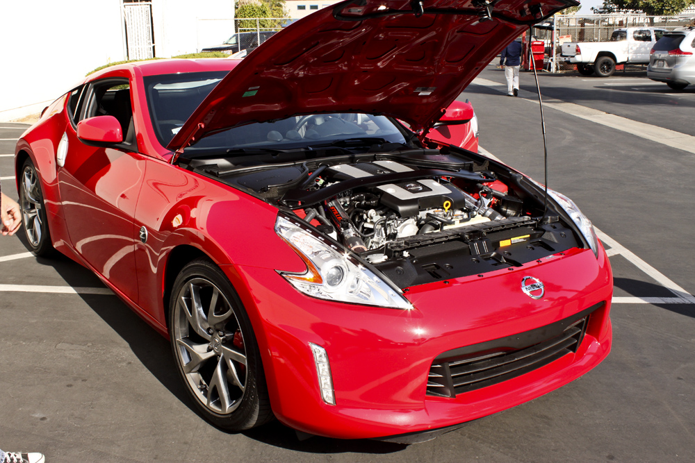 2013 Nissan 370z Stillen Engine Bay