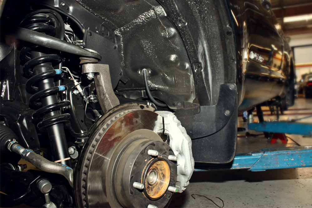 2013 Toyota Tundra Lowering Kit Drop Spindle