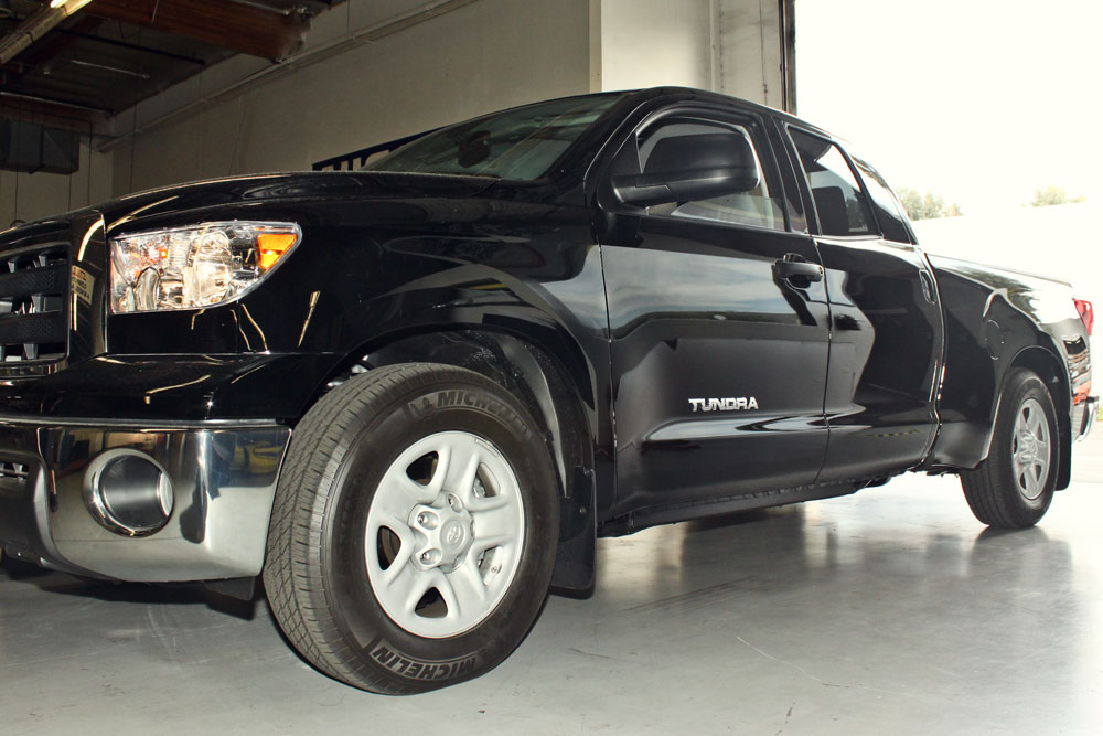 2013 Toyota Tundra with Lowering Kit