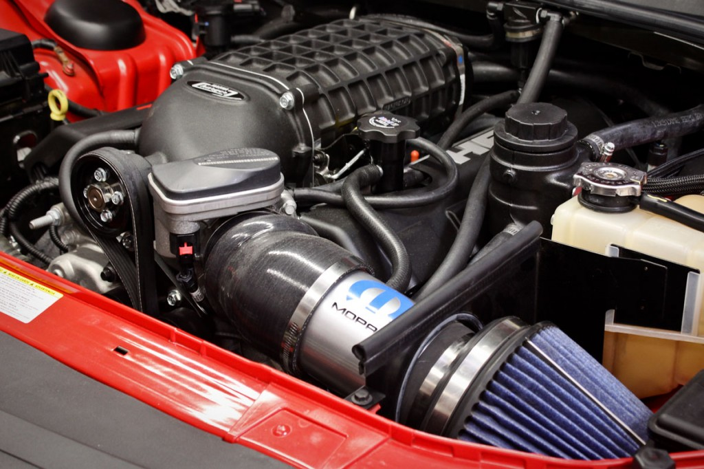 Dodge Challenger SRT8 Magnuson Supercharger Installed