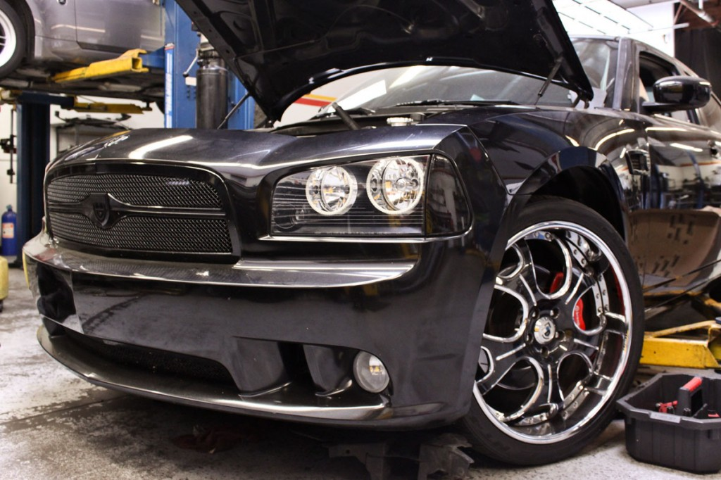 Dodge Charger SRT8 in STILLEN Performance Shop