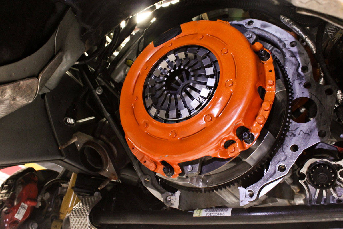 Dodge Challenger SRT8 Centerforce Clutch