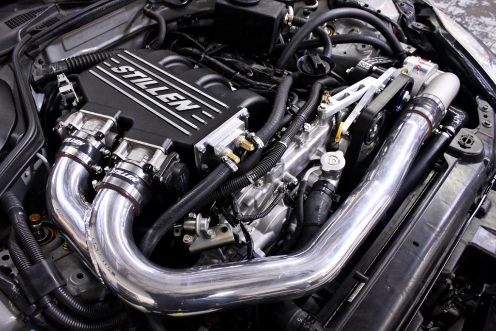 Nissan 350Z STILLEN Supercharger