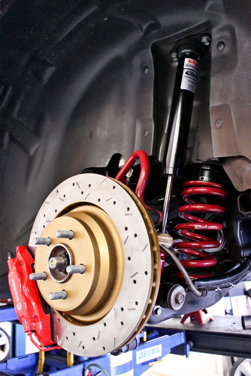 Dodge Challenger SRT8 Eibach Multi-Pro R1