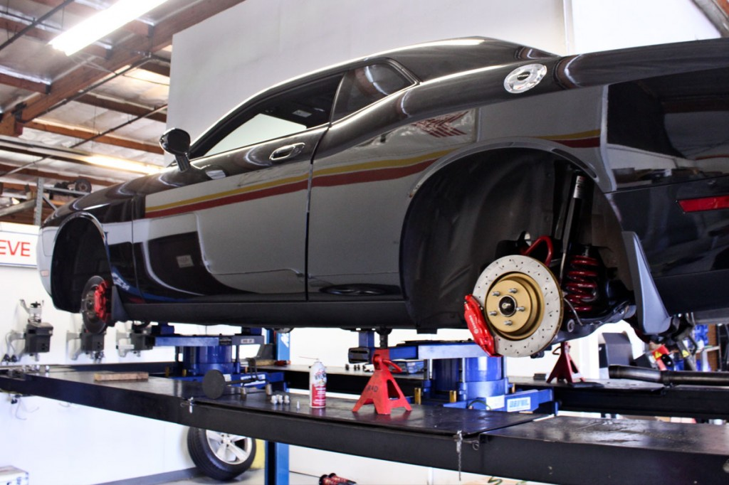 Dodge Challenger SRT8 Alignment and Corner Balancing