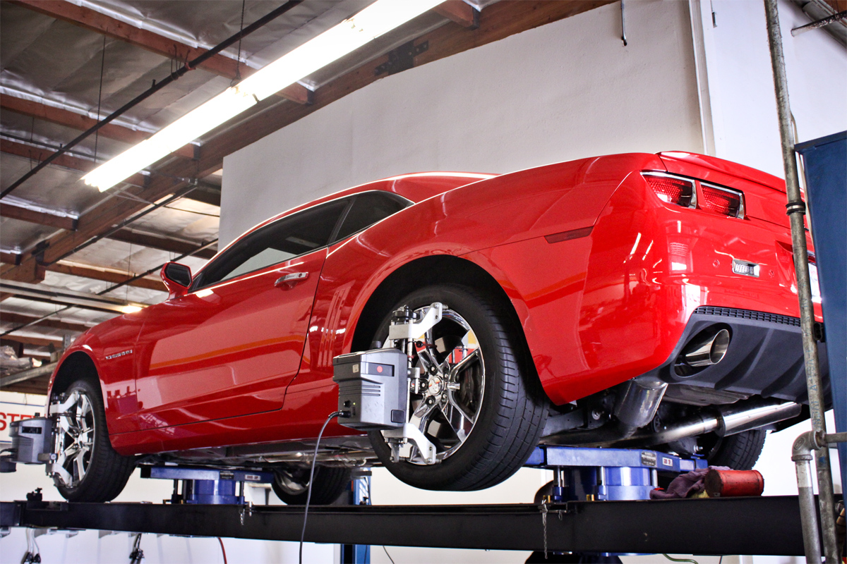 Stillen Performance shop computer alignment Camaro SS