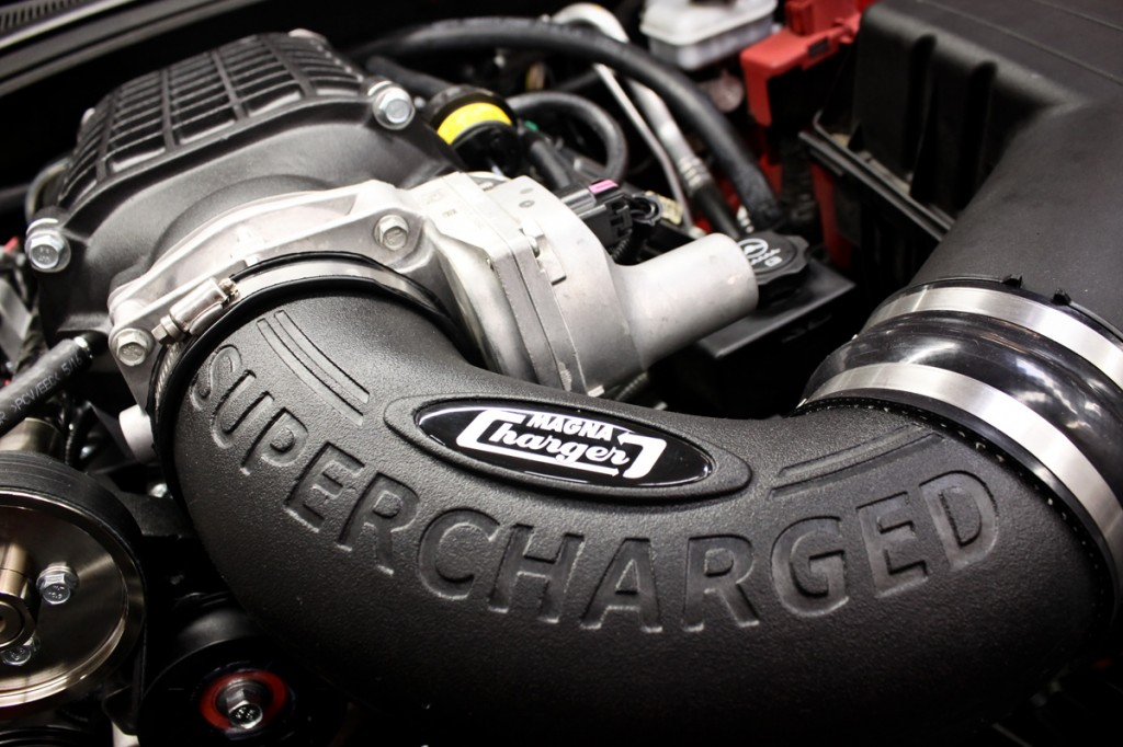 Magnuson Camaro SS Supercharger Installed