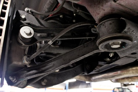 Camaro SS Stock Rear Tie Rod and Rear Trailing Arm