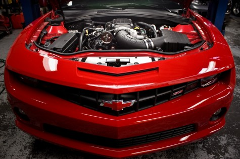 Camaro SS Magnusson Supercharger Installed