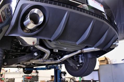 Camaro SS Magnaflow Catback Exhaust Installed
