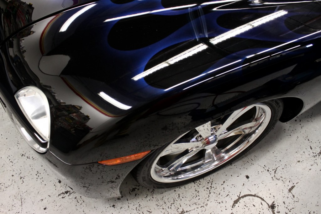 chevy ssr front fender flames