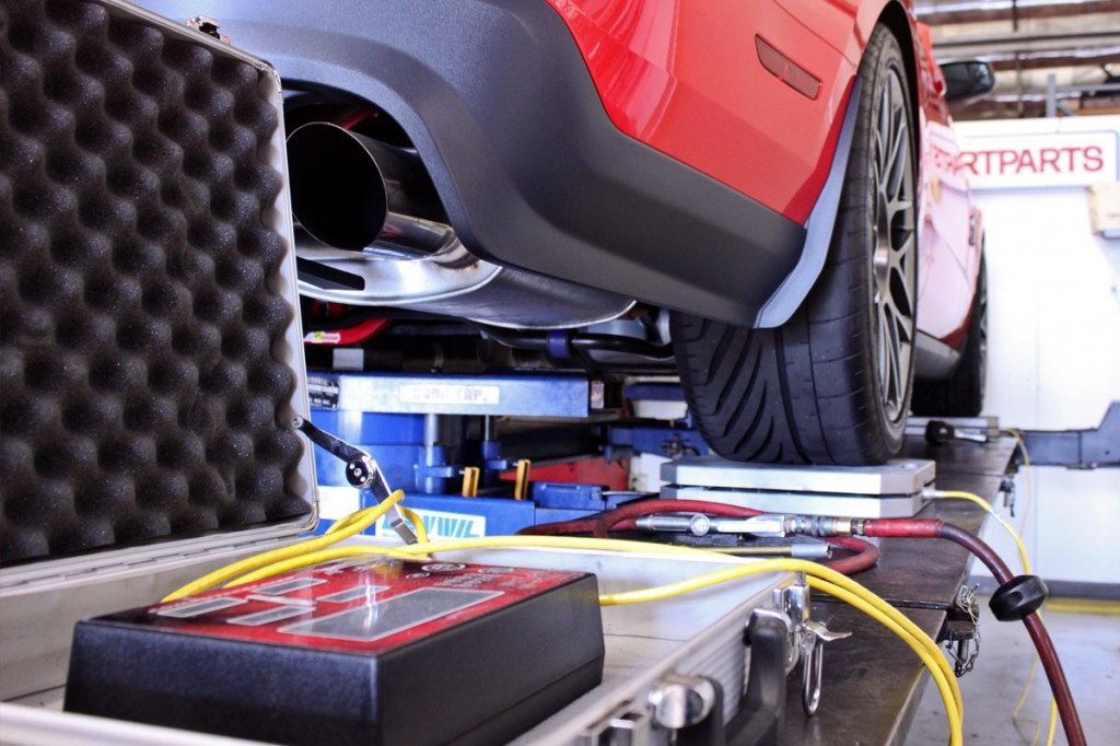 Shelby GT500 Corner Balancing