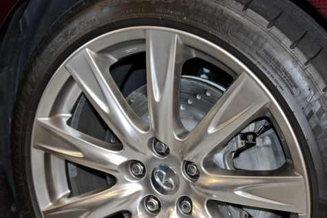 G37 Convertible Sport Rotors Installed