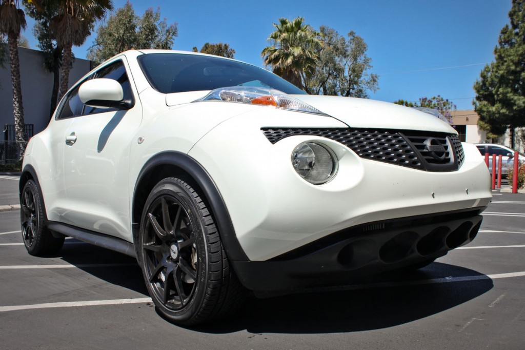 Nissan Juke Lowered with Eibach Pro-kit Front