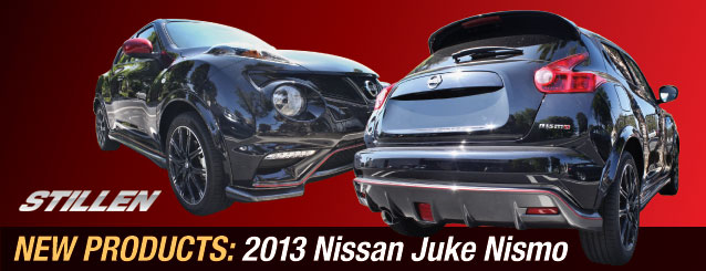 New 2013 Juke Nismo Aftermarket Parts