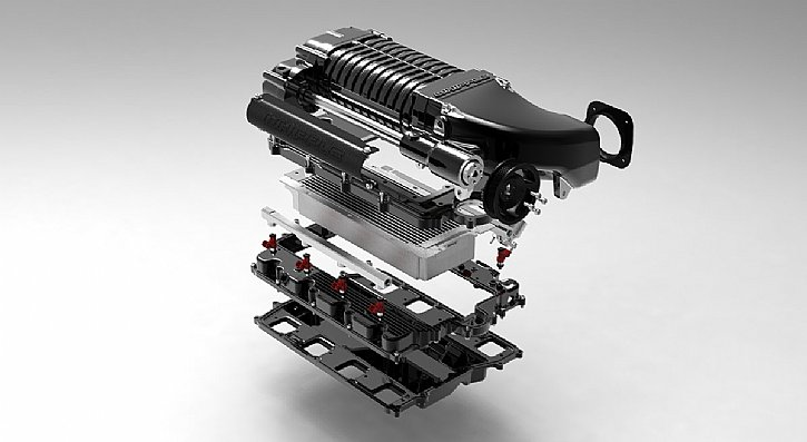Whipple Supercharger Black Expanded