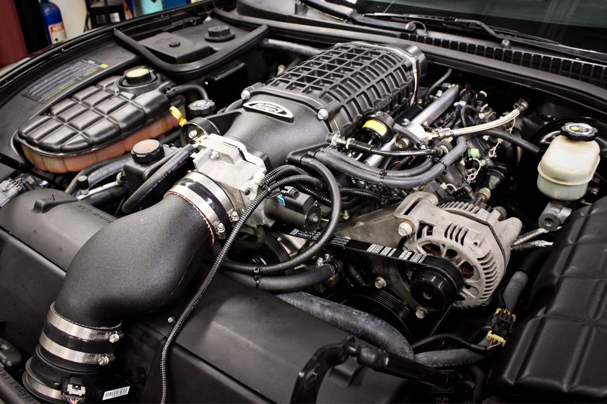 magnuson corvette supercharger install - 2001 c5 orvette