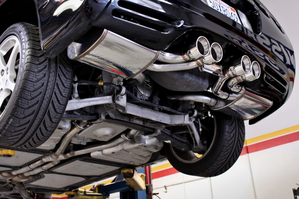 corvette magnaflow cat-back exhaust system