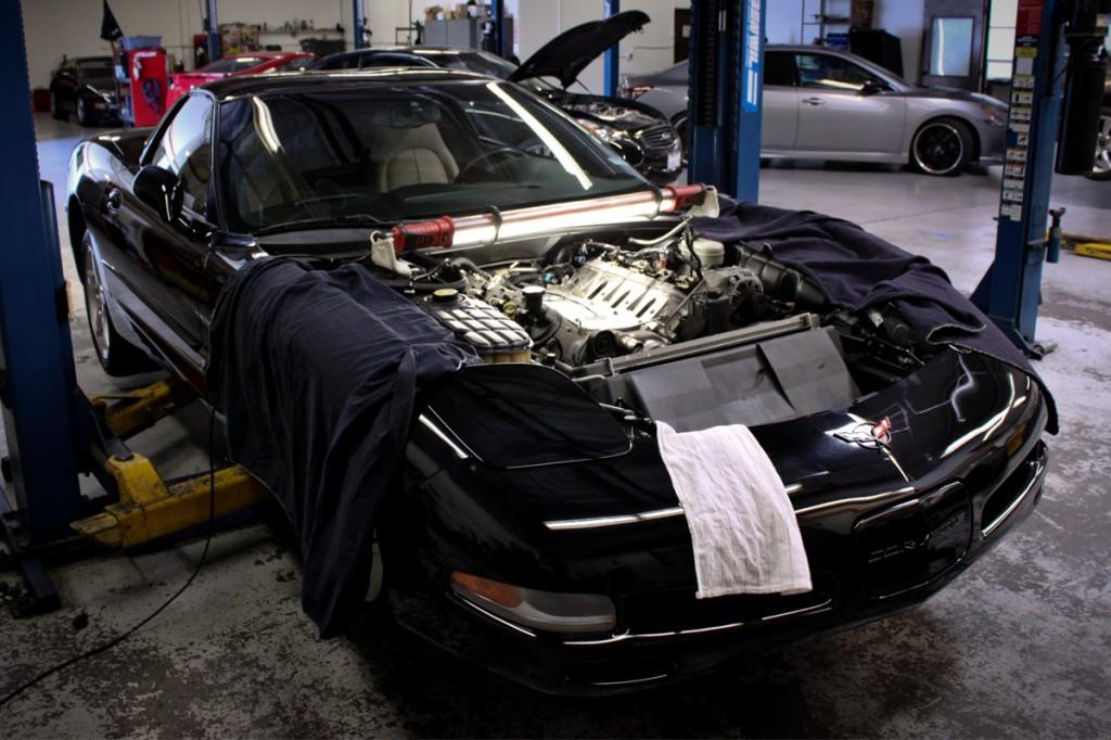 magnuson corvette supercharger install