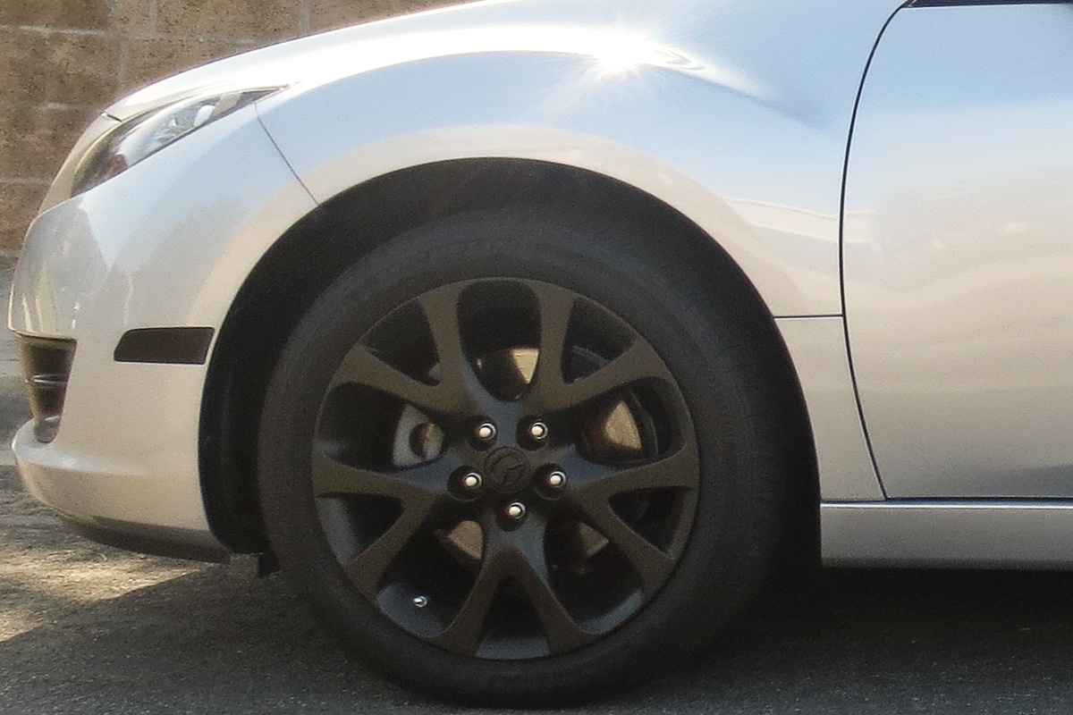 mazda 6 stock height front