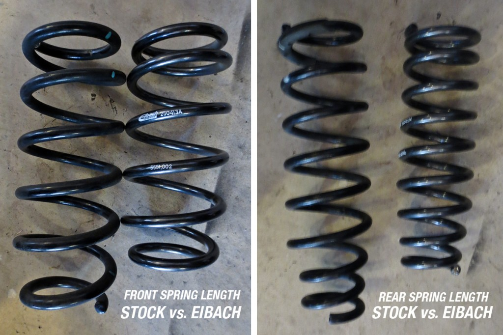mazda 6 stock springs vs. eibach springs