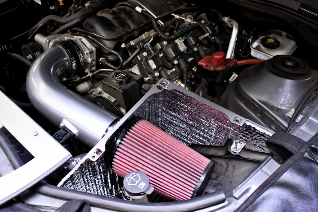 Cold Air Inductions Camaro Intake Installed