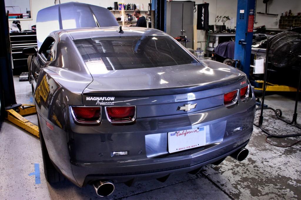 2011 Camaro SS Parts Install