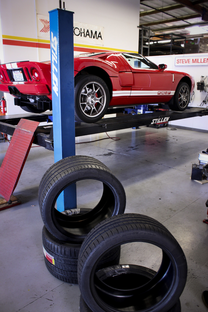 ford gt new tires