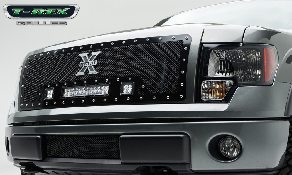 LED Light Grilles - 2009-2012 F-150