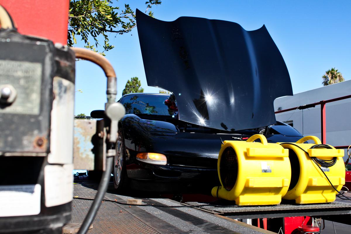 Supercharged  2001 Corvette Dyno Tune