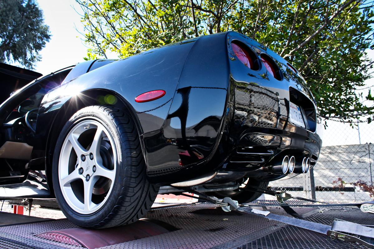 2001 Corvette Dyno Tune - Rear