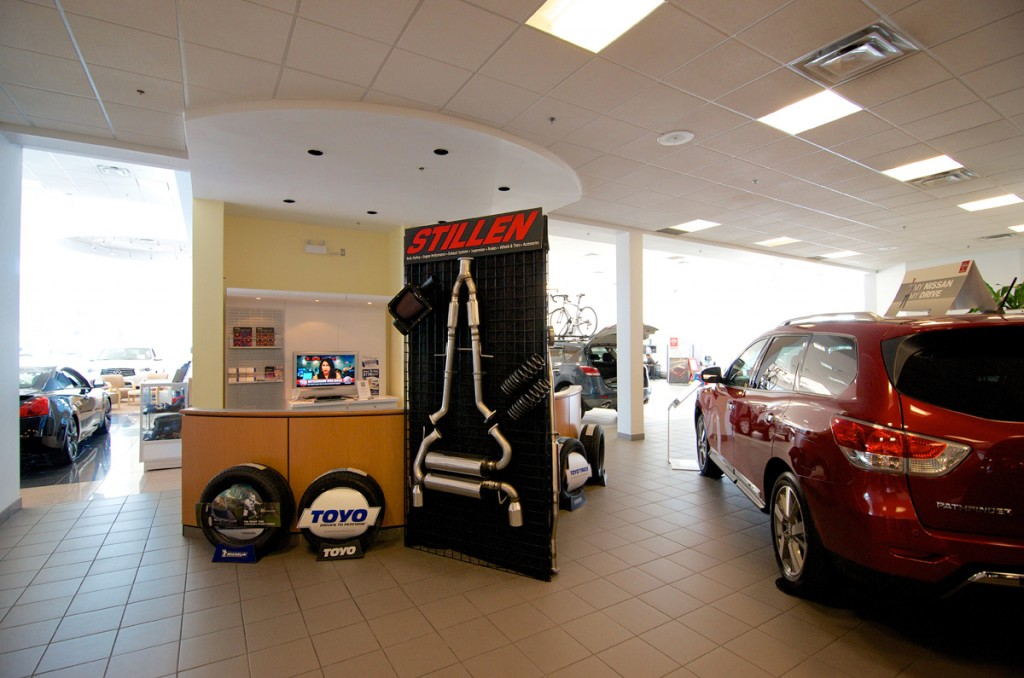 STILLEN Product at Nissan Infiniti dealer