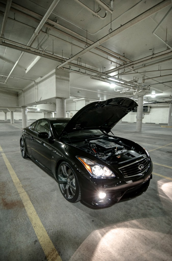 2014 Infiniti Q60 S with STILLEN Gen 3 Intake