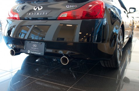 2014 Q60 STILLEN Stainless Steel Cat-back Exhaust