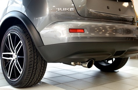 2014 Nissan Juke STILLEN Cat-back Exhaust