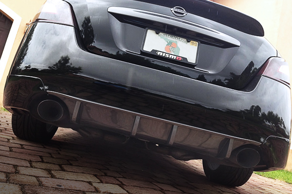 Maxima Rear Diffuser - Painted Gray