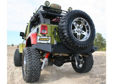 Jeep Wrangler Exhaust installed