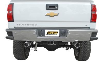 Gibon Aluminized Dual Straight 2014 Silverado Exhaust