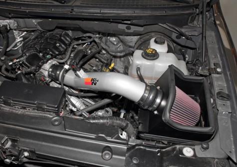 Installed K&N F-150 intake