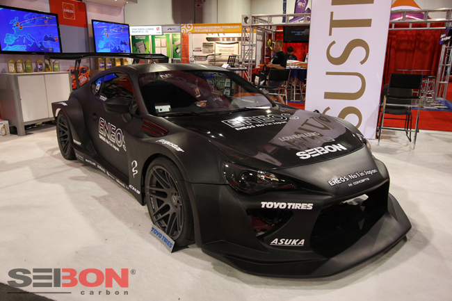 Scion Frs Parts >> Scion FRS Carbon Fiber by Seibon | For Looks or Serious Track Use